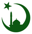 Symbol of Islam and mosque ramadan