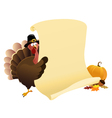 Thanksgiving Message vector image vector image