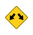 usa traffic road signs traffic is permitted to vector image vector image