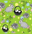 wallpaper for the easter holiday vector image vector image