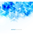 Blue shiny technical background vector image