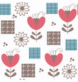 abstract floral cute seamless pattern in it is vector image