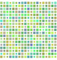background colored green mosaic vector image vector image