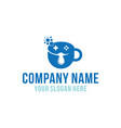 coffee game logo designs inspiration vector image vector image