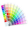 Color palette vector image vector image