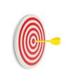 darts target success business concept creative vector image