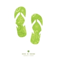 environmental flip flops silhouettes pattern frame vector image