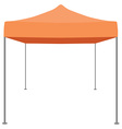 Folding tent vector image vector image
