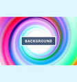 modern colorful flow abstract background vector image vector image