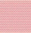 red x on pink background abstract seamless pattern vector image