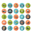 Set of modern flat icons vector image vector image