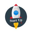 Start Up Banner vector image vector image