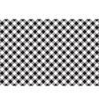 Black white checkerboard check diagonal seamless vector image vector image