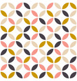 geometric seamless pattern in scandinavian vector image vector image