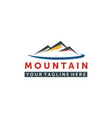 Mountain logo elegant mountain logo design