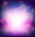 purple magical abstract background vector image