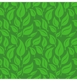 seamless background with green leaves vector image vector image