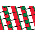 abstract mexican flag or banner vector image