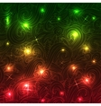 Abstract disco glowing set of background vector image