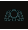 Calligraphic Luxury logo Emblem elegant decor