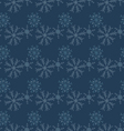 Hand drawn snowflakes Seamless winter texture vector image