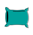 pillow bedroom icon image vector image vector image