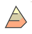 pyramid chart icon set 48x48 pixel perfect and vector image