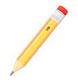 simple pencil icon vector image vector image