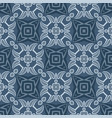 abstract seamless geometry dark blue vector image vector image