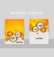 Brochure background vector image vector image