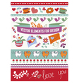 elements for design vector image vector image