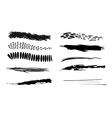 grunge brush vector image vector image