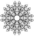 Mandala ethnic indian design vector image