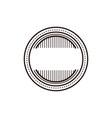 vintage retro blank labels logo vector image vector image