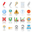Textbook icons for print vector image