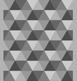 abstract black and white geometric vector image vector image