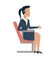 business woman avatar icon image vector image vector image