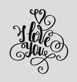 Calligraphic font hand drawing individual twisted vector image