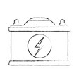 car battery icon image vector image vector image