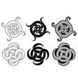 decorative arabic ornament tattoo design vector image