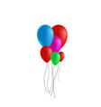 festive rubber ball vector image vector image