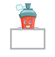 grinning aerosol spray can character cartoon with vector image vector image