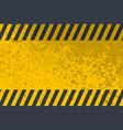 grunge danger background vector image