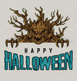 halloween night colorful concept vector image vector image