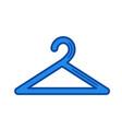 hanger line icon vector image