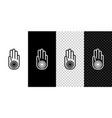 set line symbol jainism or jain dharma icon vector image vector image