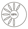 Sixty eight infographics outline style
