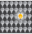 Bulb Point vector image