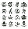 barber badge vector image vector image