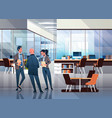 business people communicating concept modern vector image vector image